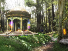 3D Magical Fantasy Forest