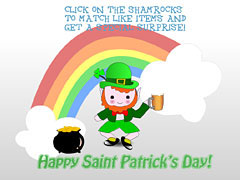 Animated St. Pat's Game