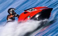 Speeding Sea-Doo